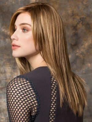 Durable Lace Front Synthetic Straight Wig
