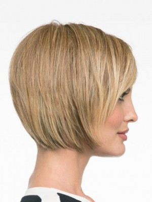Striking Capless Synthetic Straight Wig