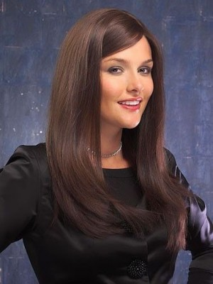 Fashionable Lace Front Straight Synthetic Wig