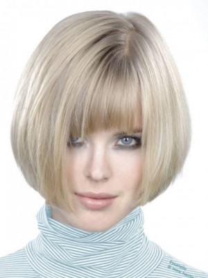 Shimmering Straight Capless Synthetic Wig