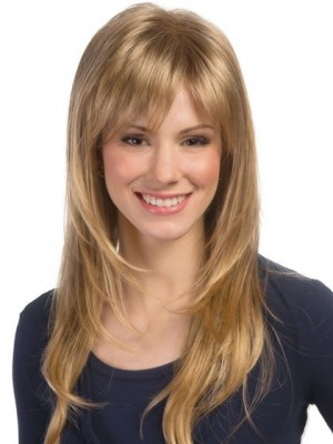 Good Looking Extra Long Face Framing Feathered Layered Cut Wig