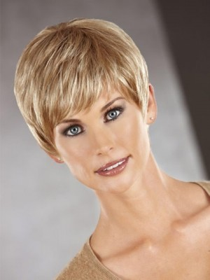 Graceful Sassy Pixie Cut Cropped Synthetic Wig