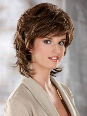 Luxury Flowing Layers Synthetic Wig