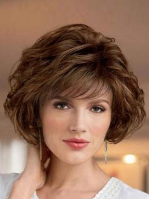 2018 New Style Wavy Look With Textured Synthetic Wig