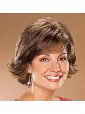Good Looking Dramatic Sweep Synthetic Wig