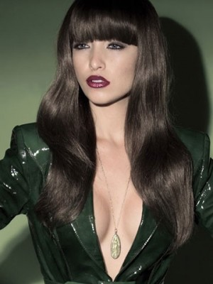 Classic Prevailing Wavy Synthetic Capless Wig