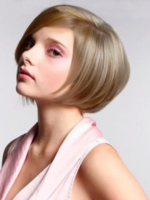 Most Popular Chin Length Straight Synthetic Wig