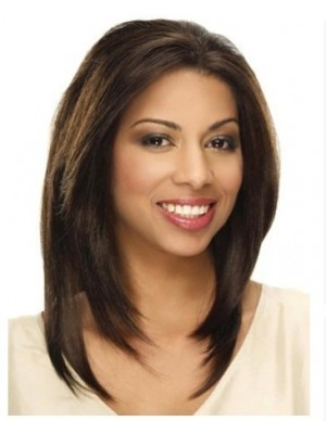 Nice Long Straight Lace Front Synthetic Wig