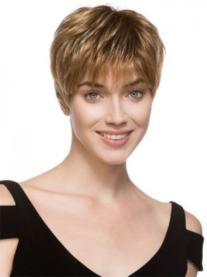 Elegant Straight Lace Front Monofilament Synthetic Wig