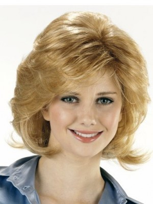Polished Short Wavy Capless Synthetic Wig