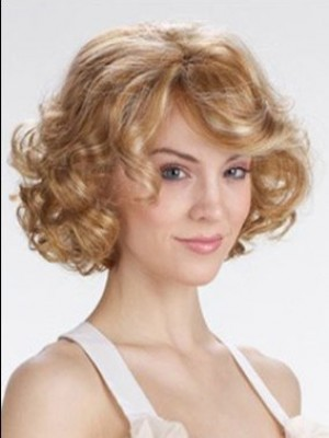 Stunning Wavy Lace Front Synythetic Wig