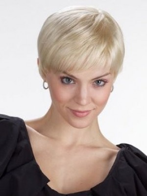 Classic Short Lace Front Monofilament Synthetic Wig