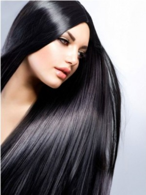 New Style Straight Designed Full Lace Black Wig
