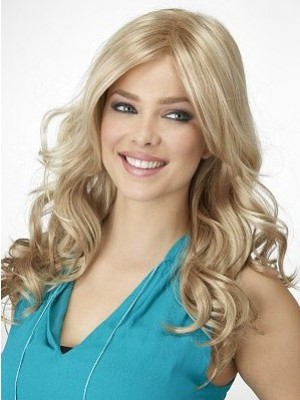 Stunning Wavy Lace Front Fashionable Wig