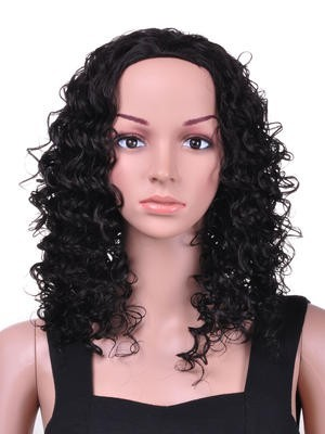 Classic Curly Long Synthetic Wig