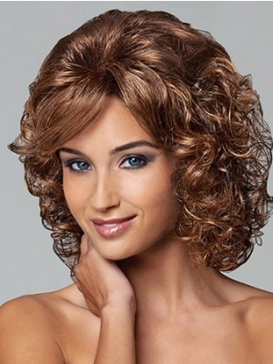 Capless Comfortable Curly Synthetic Wig