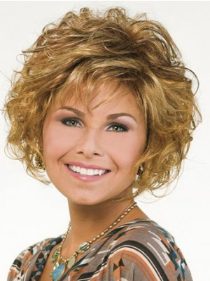 Synthetic Capless Short Nature Wig