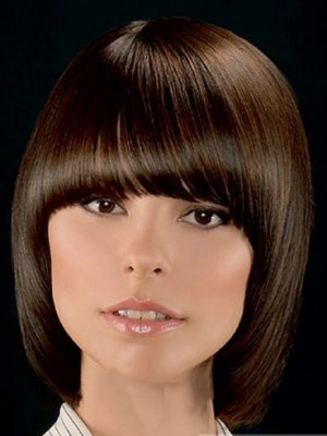 Attractive Straight Synthetic Wig