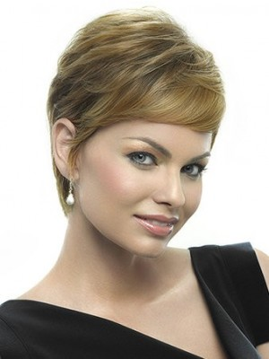 Short Attractive Lace Front Popular Wig