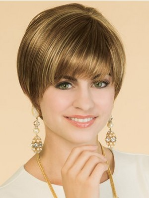 Classic Straight Popular Lace Front Wig