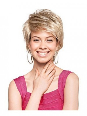 Marvelous Short High Quality Synthetic Wig