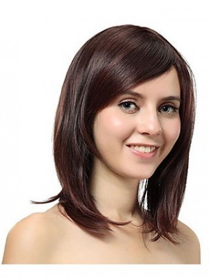 Magnificent Medium Straight Synthetic Wig