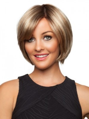 Stunning Medium Length Synthetic Lace Front Wig