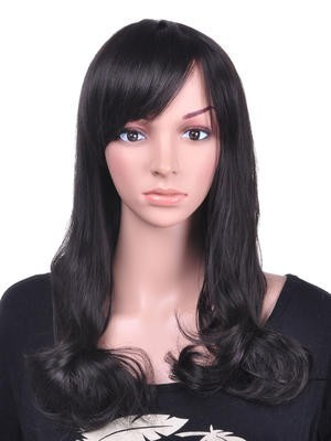 Luxury Long Wavy Attractive Synthetic Wig