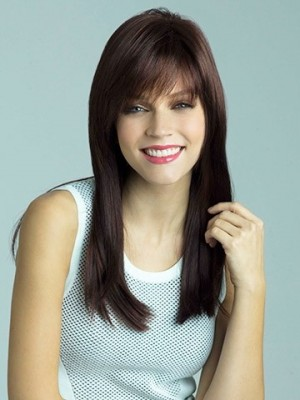 Fashionable Synthetic Straight Capless Wig