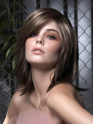 Nice-looking Straight Capless Synthetic Wig