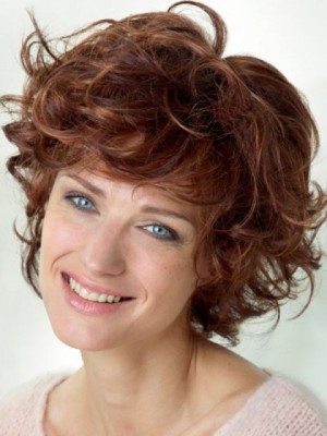 Magnificent Short Length Synthetic Lace Front Wig