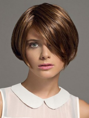 Modern Capless Short Synthetic Wig
