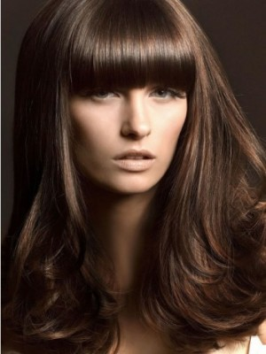 Durable Wavy Layered Long Length Synthetic Wig