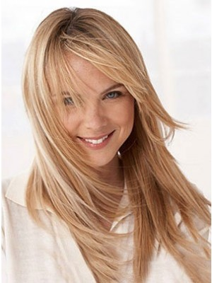 2014 New Style Capless Straight Synthetic Wig
