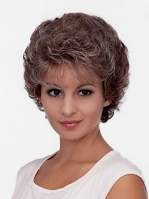 Sweet Astrid Short Curly Synthetic Wig