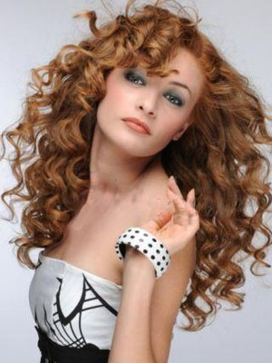 Elegant Long Lace Front Wavy Synthetic Wig