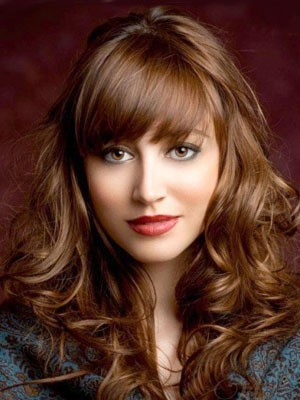 Wonderful Long Wavy Lace Front Synthetic Wig