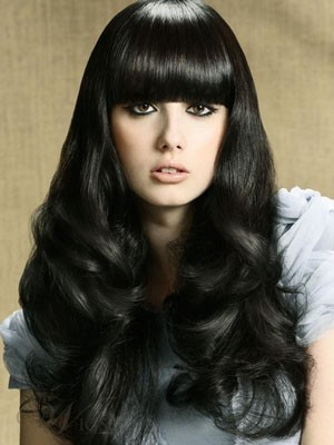 Fabulous Long Synthetic Capless Wavy Wig