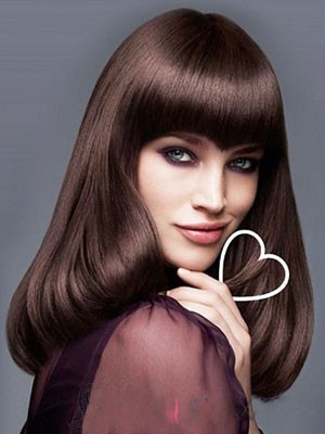 New Style Straight Long Synthetic Capless Wig