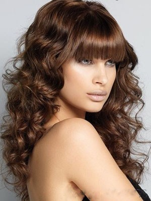 Fashionable Wavy Synthetic Long Capless Wig