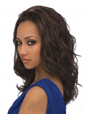 Admirable Synthetic Wavy Long Lace Front Wig