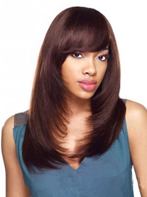 Stupendous Capless Synthetic Long Straight Wig