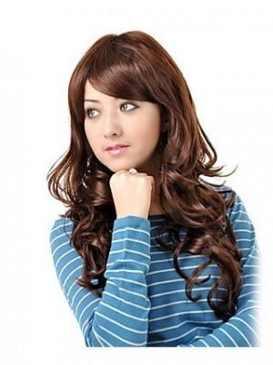Fabulous Long Wavy Gentle womanly Hair Wig