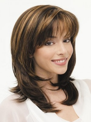 New Style Treasure Lace Front Long Layered Wig