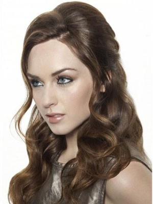 Fashionable Wavy Synthetic Long Lace Front Wig