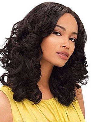 Polished Synthetic Wavy Long Capless Wig