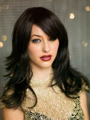 Stupendous Capless Long Straight Synthetic Wig