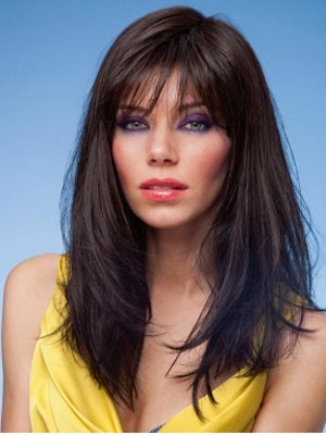 Impressive Synthetic Straight Capless Wig