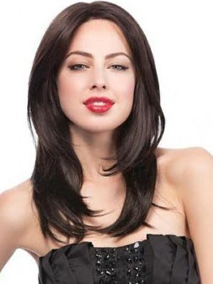 Pretty Synthetic Lace Front Straight Wig