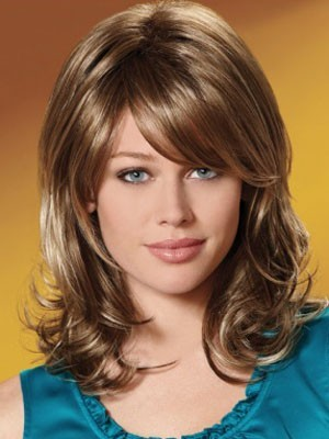 Gorgeous Synthetic Wavy Capless Wig